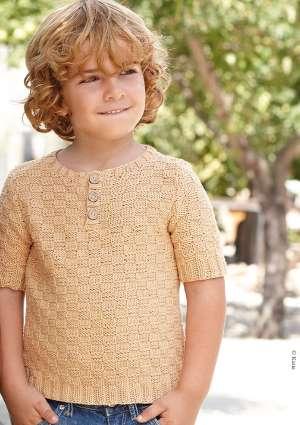 pull léger modèle tricot enfant