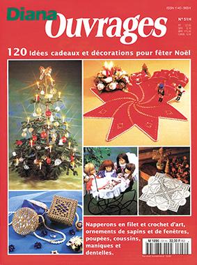 Diana ouvrages décorations et cadeaux de Noël