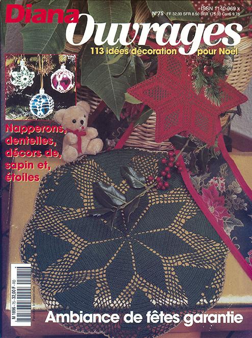 diana ouvrages spécial décoration de Noël