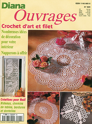 diana ouvrages crochet d'art et filet