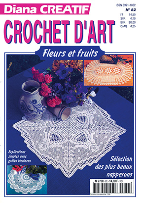diana créatif crochet spécial fleurs et fruits