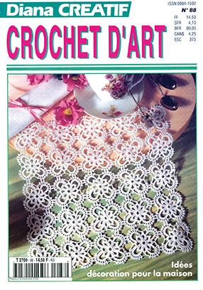 Diana Créatif décoration en crochet pour la maison