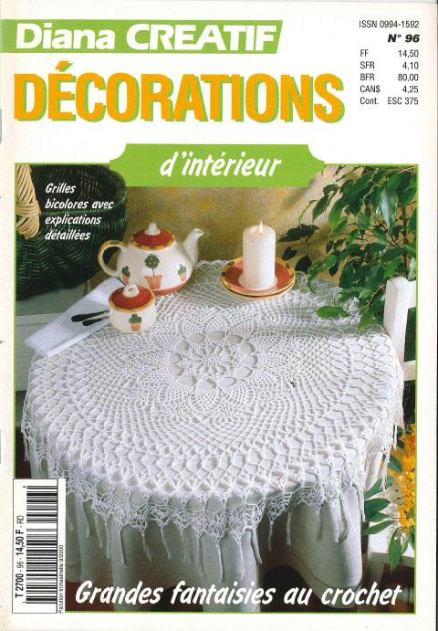diana créatif décorations d'intérieur au crochet