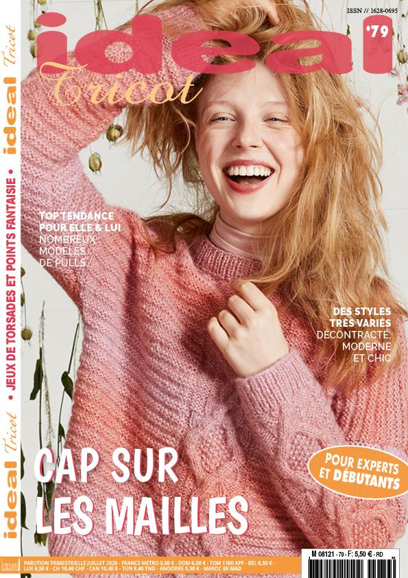 couverture ideal tricot n° 79 cap sur les mailles