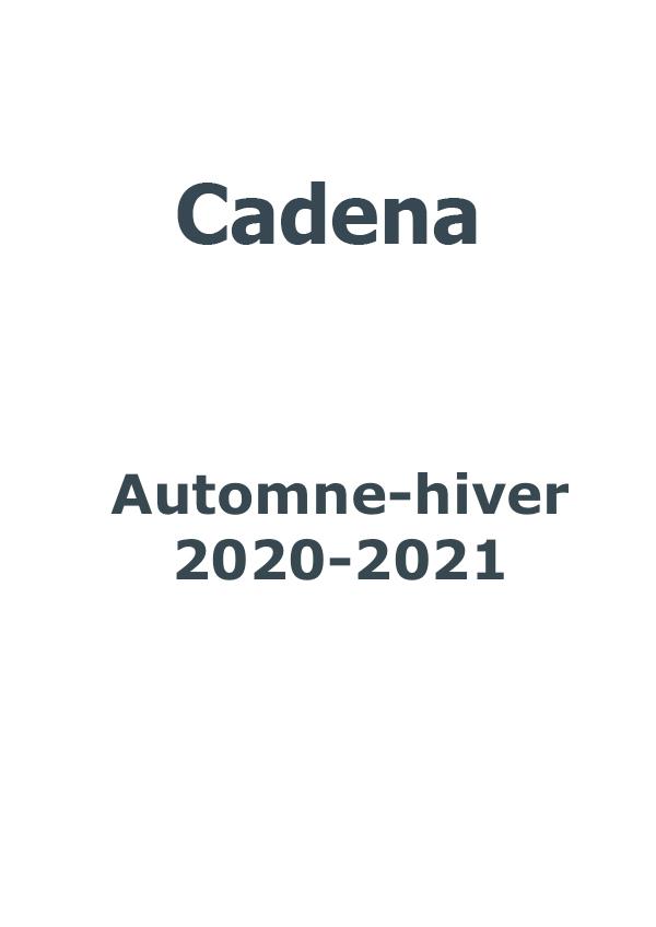 Cadena automne-hiver 2020-2021