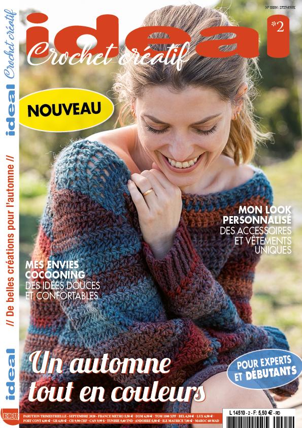 ideal crochet créatif numéro 2 couverture