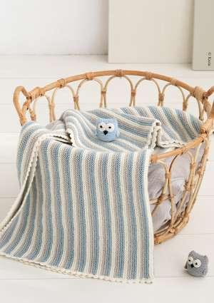 doudou et couverture d'enfant en laine