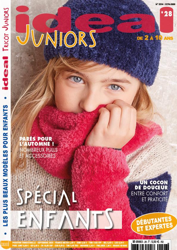 ideal tricot juniors numéro 28 couverture