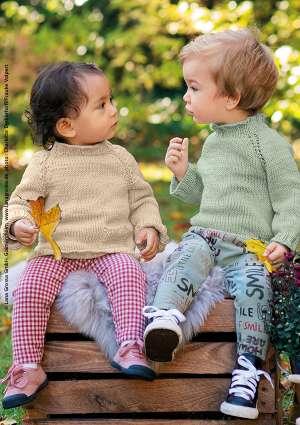 pull pour enfant tricoté en laine
