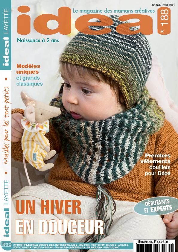 Ideal Layette 188 modèle tricot bébé