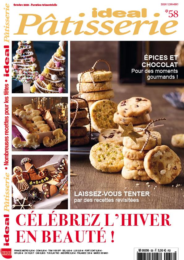 Ideal Pâtisserie 58 recettes hiver noël