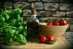 huile olive tomates