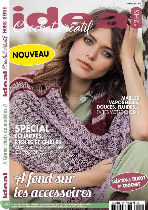 Ideal Crochet Créatif modèles écharpes châles