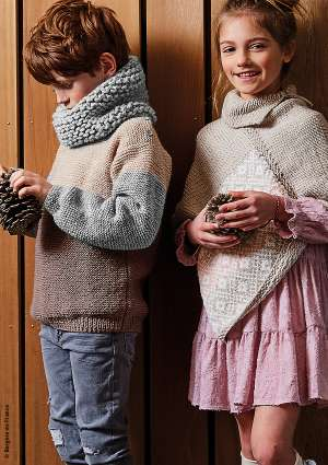 modèles enfants tricot