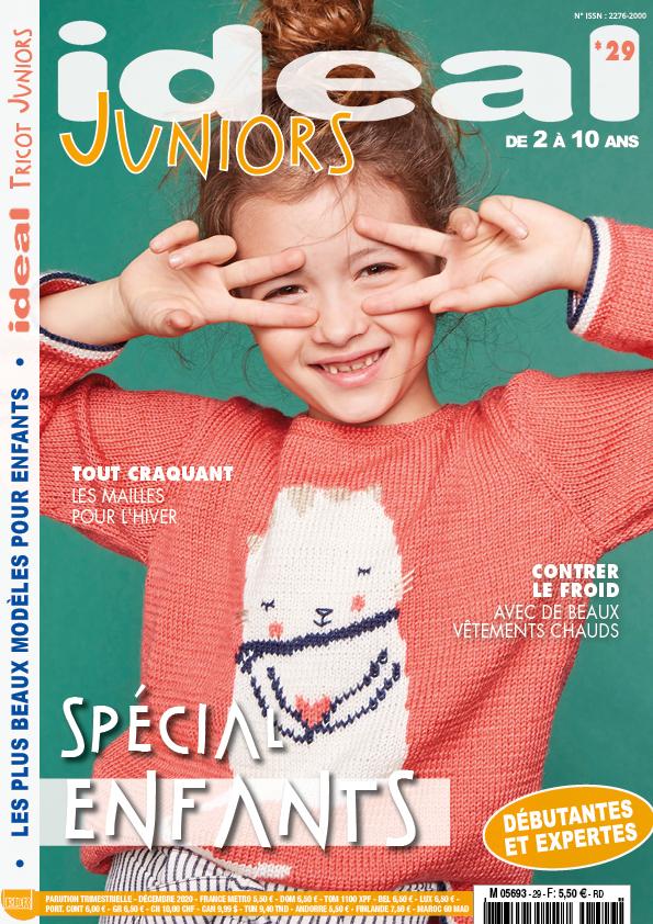 Idéal Tricot Juniors modèles enfants hiver