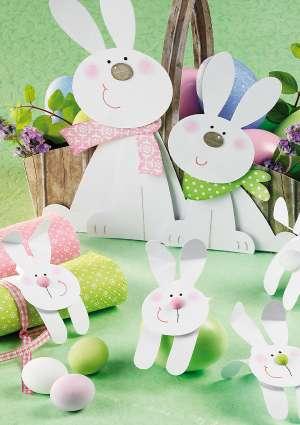 bricolage lapins paques