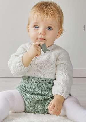 bébé combinaison tricot