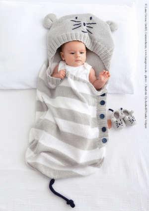 modèle bébé tricot