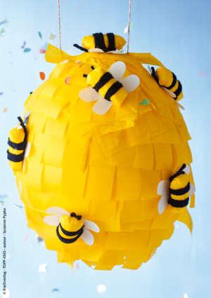 abeilles papier