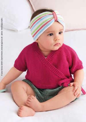 bébé bandeau cache coeur