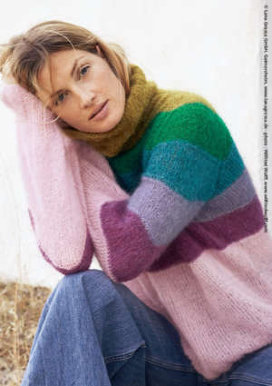 pull multicolor femme