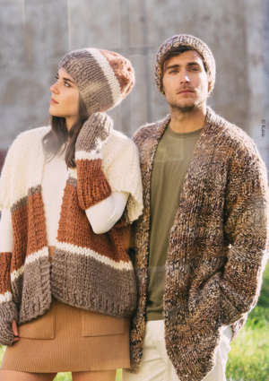 femme homme tricot