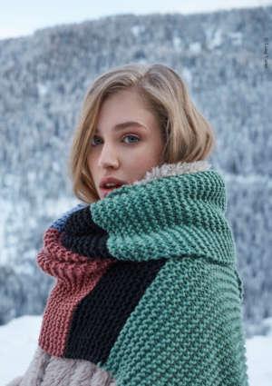 écharpe femme hiver