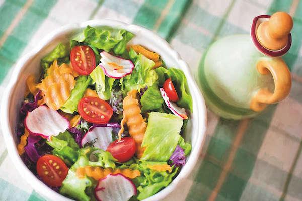 salade sans viande