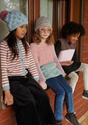 modèles pull tricot enfant